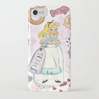 alice in wonderland iPhone & iPod Cases featuring Wonderland  by Marilyn Rose Ortega