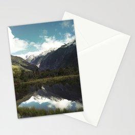 (Franz Josef Glacier) Where the snow melts Stationery Cards