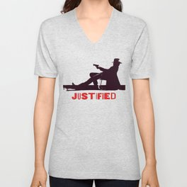 Justified ||| Unisex V-Neck
