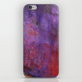 Red Vastness iPhone Skin