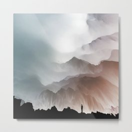 Out of nothing Metal Print