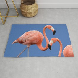 Flamingo Contrast #society6 #decor #buyart Rug