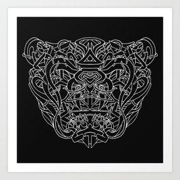 Bruin Art Print