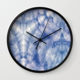 Pattern of clouds 07 Wall Clock