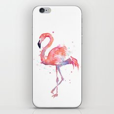 Flamingo iPhone & iPod Skin