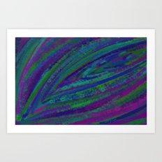 Peacock DP160218a Art Print