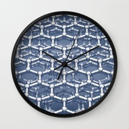 Nanotechnology Wall Clock