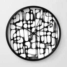 Follow the Line I  Wall Clock