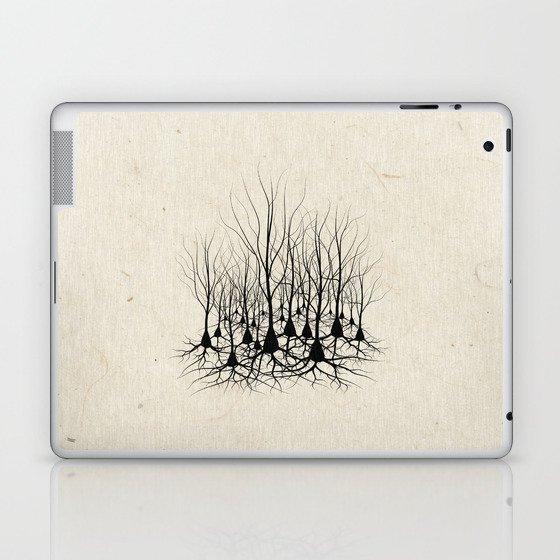 Pyramidal Neuron Forest Laptop & iPad Skin