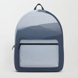 hazy morning blues Backpack