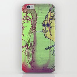 """Don't Blame Me, You Know How I Get When I Eat Dunkaroos"" iPhone Skin"