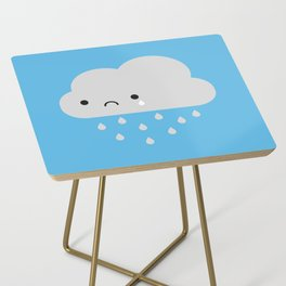 Sad Kawaii Rain Cloud Side Table