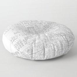 Copenhagen, København, Denmark Floor Pillow