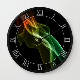 Smoke compositions V Wall Clock