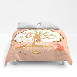 Les Amis - Dawn Colorway Comforters