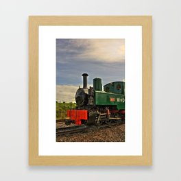Full steam ahead! Framed Art Print