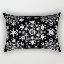 Snowflake Lace Rectangular Pillow