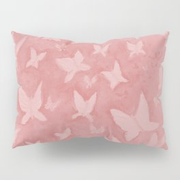 Blushing Butterflies Pillow Sham