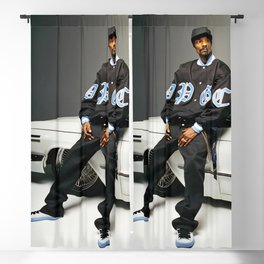 Snoop Dogg, Los Angeles, west coast rapper style Blackout Curtain
