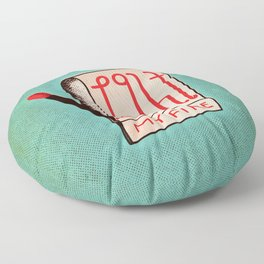 (Come On Baby) Light My Fire Floor Pillow
