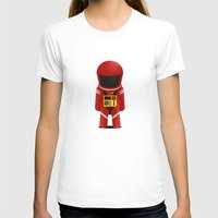 2001 a space odyssey T-shirts featuring 2001 Space Odyssey Red Suit by Scientee