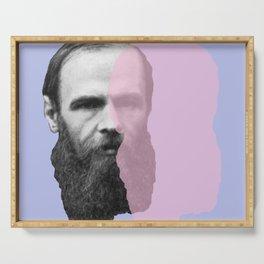 Fyodor Dostoevsky Serving Tray