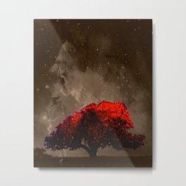 Fire Tree VI Metal Print