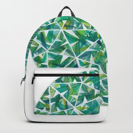 Green Round Gem Backpack