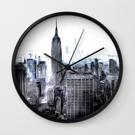 Manhattan Art Wall Clock