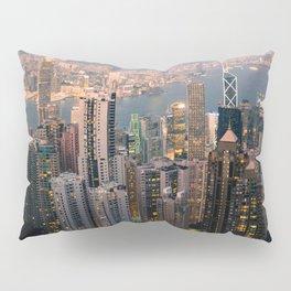 Hong Kong (Sunset over Victoria's Peak) Pillow Sham