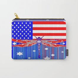 Red-White & Blue 4th of July Celebration Art Carry-All Pouch