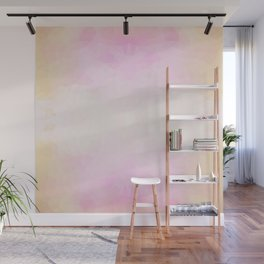 """""""Candy floss mood"""" triangles design Wall Mural"""