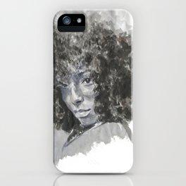 SHY black woman  iPhone Case