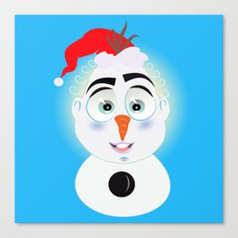 Lolo AlfsToys wants to become in Olaf Canvas Print