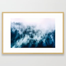 Out Of The Darkness - Nature Photography Framed Art Print