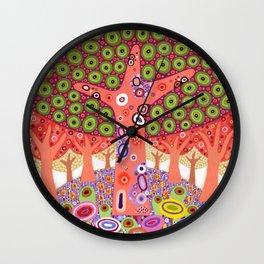 Ishihara Hill Wall Clock