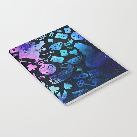 Alice in Wonderland - Galaxy Notebook