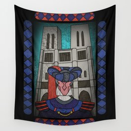 Norte dame calls Wall Tapestry