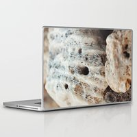 coral Laptop & iPad Skins featuring Coral by Lori Anne Photography