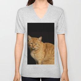 Red Cat Unisex V-Neck