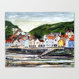 Staithes, North Yorkshire Canvas Print