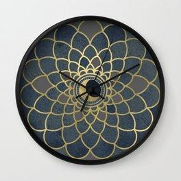 Mystical Moon Mandala Wall Clock