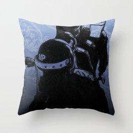 Dawn Raid Throw Pillow