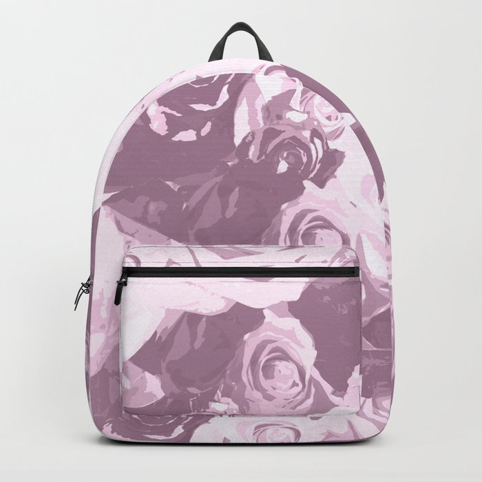 Rose bouquet - beautiful roses from rose garden - vintage style Backpack