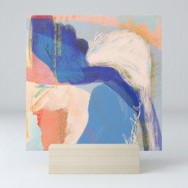 Sanibel - Shapes and Layers no. 34 - Abstract Mini Art Print