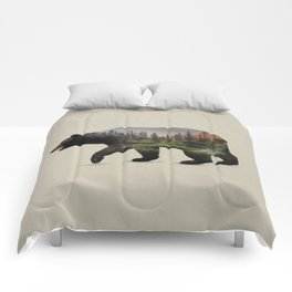 The North American Black Bear Comforters