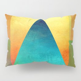 Triangle Composition XIII Pillow Sham