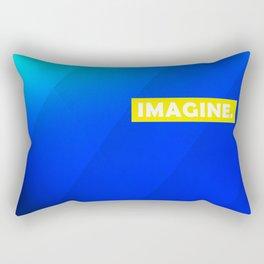 IMAGINE gradient no1 Rectangular Pillow