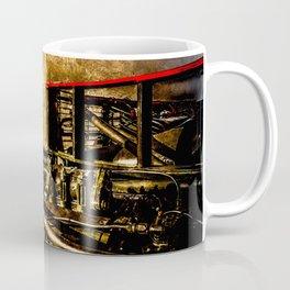 Vintage Steam Engine Locomotive - Commanding Heights Coffee Mug