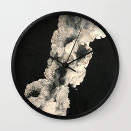 Smoke in the night Wall Clock